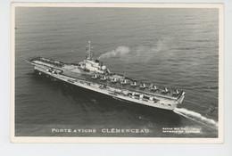 BATEAUX - Marius Bar Photo. TOULON - Porte Avions CLEMENCEAU - Warships