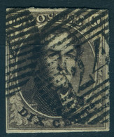 Belgique N°3 -  TB - 1849-1850 Medaillons (3/5)