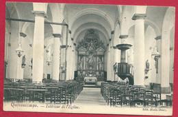 C.P.  Quevaucamps =  Intérieur  De L' Eglise - Beloeil