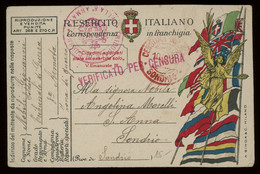 Italy WWI Military Mail Post Card From A Specialised Collection Including Many Better Items, PLEASE INSPECT [02631] - Militaire Post (PM)