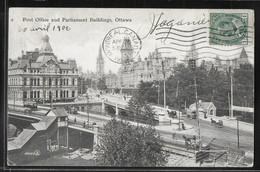 CPA CANADA - Ottawa, Post Office And Parliament Buildings - Ottawa