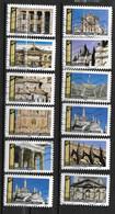 2019 - 218 - 1671 à 1682 Histoire De Style Architecture - Oblitéré - Luchtpost