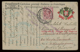 Italy WWI Military Mail Post Card From A Specialised Collection Including Many Better Items, PLEASE INSPECT [02683] - Militaire Post (PM)