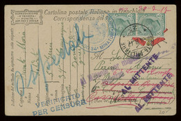 Italy WWI Military Mail Post Card From A Specialised Collection Including Many Better Items, PLEASE INSPECT [02685] - Militaire Post (PM)