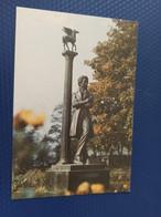 Moldova / Transnistria (PRIDNESTROVIE). Tiraspol. Pushkin Monument -  Old Postcard 1992 - Moldova