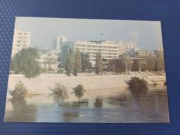 "Moldova / Transnistria (PRIDNESTROVIE). Tiraspol. ""Aist"" Hotel-  Old Postcard 1992 - Moldova"