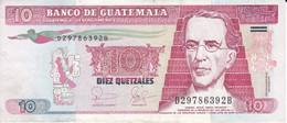 BILLETE DE GUATEMALA DE 10 QUETZALES DEL AÑO 2006 CALIDAD MBC (VF) (BANKNOTE) - Guatemala