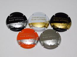Série De 4 Capsules De Champagne - ALAIN LITTIERE - Collezioni