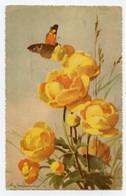 Klein, Catharina, Bouquet De Fleurs Et Papillon. Butterfly. - Klein, Catharina