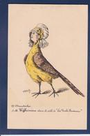 CPA Poule Position Humaine écrite Chantecler Par Roberty Pays Bas - Vogels