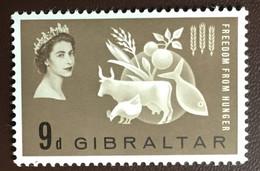 Gibraltar 1963 Freedom From Hunger MNH - Gibilterra