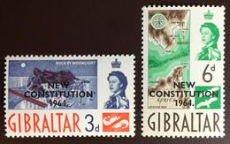 Gibraltar 1964 New Constitution MNH - Gibilterra