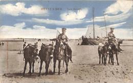 Heyst Heist - Les Aniers (colorisée Marcovici 1912) - Heist