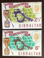 Gibraltar 1966 World Cup MNH - Gibilterra