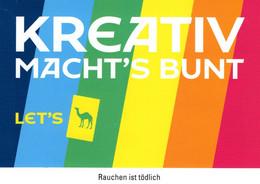 Kreativ Macht's Bunt - Let's CAMEL Werbekarte - Pubblicitari