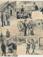 Lot De 22 Cartes Fantaisie - Humour - Nos Bons Paysans - Illustrateurs Signés - 5 - 99 Postkaarten