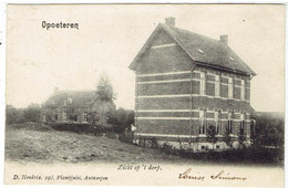 Opoeteren - Maaseik - Zicht Op 't Dorp - Uitg. D. Hendrix, Antwerpen - Maaseik