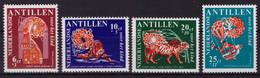 Antilles Néerlandaises 1967 - MNH** - Histoires Pour Enfants - Michel Nr. 183-186 Série Complète (aho036) - Curazao, Antillas Holandesas, Aruba