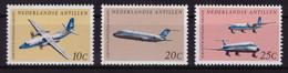 Antilles Néerlandaises 1968 - MNH** - Avions - Michel Nr. 198-200 Série Complète (aho040) - Curazao, Antillas Holandesas, Aruba