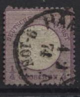 1872 Mi DR 1 (oder 16  Gebraucht - Used Stamps