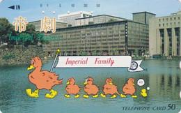 TC JAPON / 110-39197 Teleca - ANIMAL - OISEAU - CANARD - DUCK  BIRD JAPAN Free Phonecard - ENTE - 5688 - Non Classificati