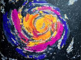 Galaxy      2021 - Acrilici