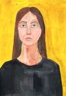 Portrait Of A Young Girl     2021 - Estampas