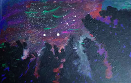 Northern Lights     2021 - Acrilici