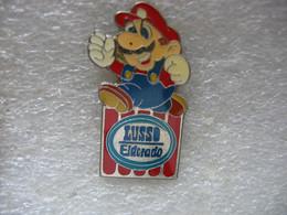 Pin's Mario Sur Nintendo, LUSSO Eldorado - Comics