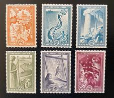 GREECE, 1951 MASHALL PLAN ,SET, MNH - Nuovi
