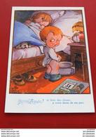 """FANTAISIES - HUMOUR - LITTLE PITCHE Illustrateur - """"  Bonne Année ! Et Bien Des Choses à Votre Dame De Ma Part """" - Other Illustrators"""