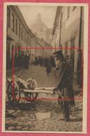 """Wilna Vilnius Lituanie Lietuva - Jiddisch ווילנע Wilne """" Alten Wilna Mann Mit Schiebkarren Nr 1765 """" Judaïka Jude Jewish - Litauen"""