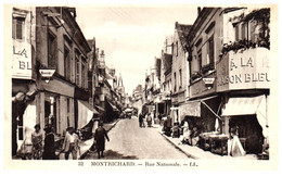 41 MONTRICHARD - Rue Nationale - Montrichard