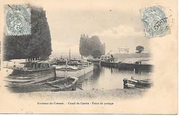 A/387           71         Le Creusot  - Environs -   Canal Du Centre  - Point De Partage - Le Creusot
