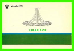 MONTRÉAL, QUÉBEC - LA MAQUETTE DU PARC OLYMPIQUE 1976  - MESSAGERIES DYNAMIQUES INC - - Olympic Games
