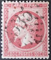 24 (cote 60 €) Obl GC 2535 Morez-du-jura (38 Jura ) Ind 3 - 1849-1876: Klassieke Periode