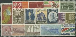 Dänemark 1970 Jahrgang Komplett Postfrisch (G96474) - Annate Complete
