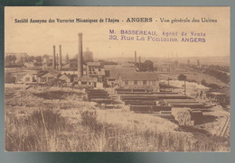 CP - 49 - Angers - Société Anonyme Des Verreries Mécaniques De L'Anjou - Vue Générale Des Usines - Angers