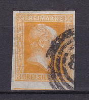 Preussen - 1857 - Michel Nr. 8 N4 - Gestempelt - 50 Euro - Prussia