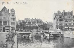 (Thème Péniche) - Gand - Le Pont Aux Herbes - Gent