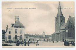 Turnhout: Grand' Place Et L'eglise Saint Pierre *** - Turnhout