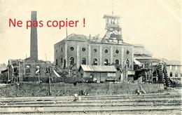 CARTE POSTALE ALLEMANDE - LA FOSSE MINIERE Nr. 1 A LENS PAS DE CALAIS - GUERRE 1914 - 1918 - Guerre 1914-18