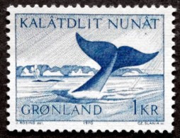 Greenland 1970 WHALE Minr.75  MNH (**)  ( Lot F 998 ) - Unused Stamps
