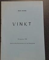Vinkt Door Frans Michem, 1985, Maldegem, 24 Pp. - Other