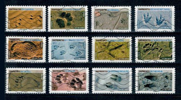 2021 SERIE EMPREINTE D'ANIMAUX OBLITEREE COMPLETE - Adhesive Stamps