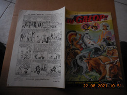 Au Galop N°8 Année 1956 Be - Small Size