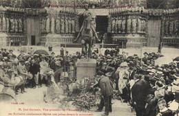 Fetes De Jeanne D' Arc à Reims 17 Juillet 1921 M José Germain Vice President De L'association Des Ecrivains Combattants - Reims