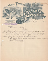 (HAUTE SAVOIE ) VALLEIRY , Fromages De Gruyère , CHAUTEMPS - 1900 – 1949