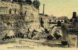 Mines De Carmaux Carrière à Remblais De La Tronquié Colorisée RV - Carmaux