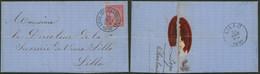 """émission 1884 - N°46 Sur LAC à En-tête Obl S.C. """"Liège (Ste-Marguerite)"""" > Sucrerie Du Vieux Lillo / Charbonnage - 1884-1891 Leopold II"""
